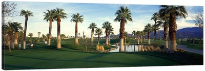 Desert Springs Golf Course, Palm Desert, Riverside County, California, USA Canvas Art Print