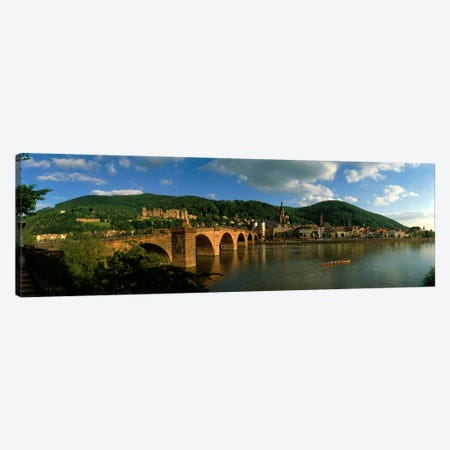 Bridge, Heidelberg, Germany Canvas Print #PIM250} by Panoramic Images Canvas Art Print