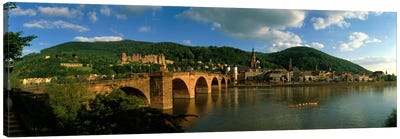 Bridge, Heidelberg, Germany Canvas Print #PIM250