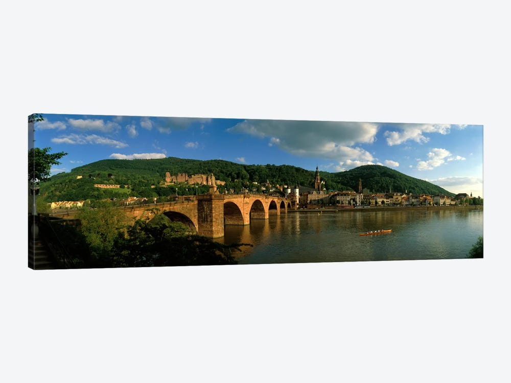 Bridge, Heidelberg, Germany by Panoramic Images 1-piece Canvas Wall Art