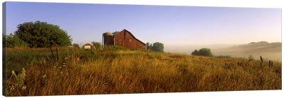 Country Barn, Iowa County, Wisconsin, USA Canvas Print #PIM2511