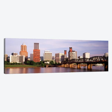 Portland, Oregon, USA Canvas Print #PIM2513} by Panoramic Images Art Print