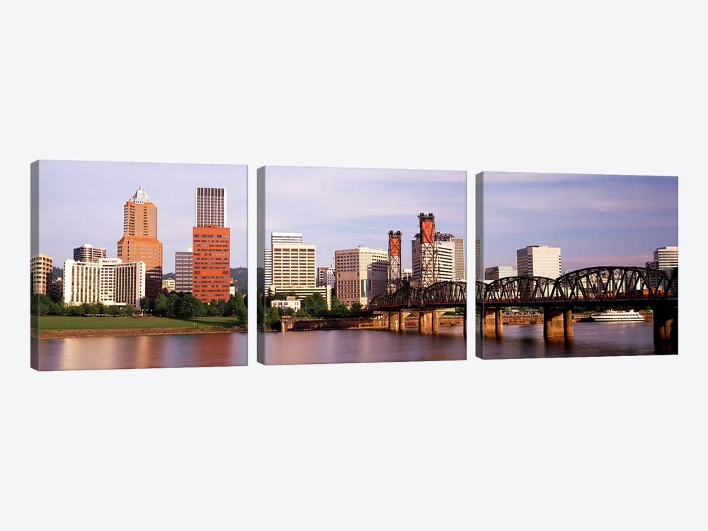Portland, Oregon, USA by Panoramic Images 3-piece Canvas Artwork