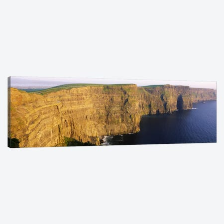 Cliffs Of Moher, County Clare, Munster Province, Republic Of Ireland Canvas Print #PIM2515} by Panoramic Images Canvas Art