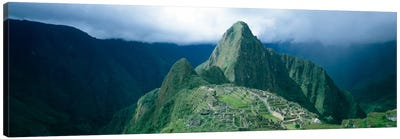 Ruins, Machu Picchu, Peru Canvas Art Print