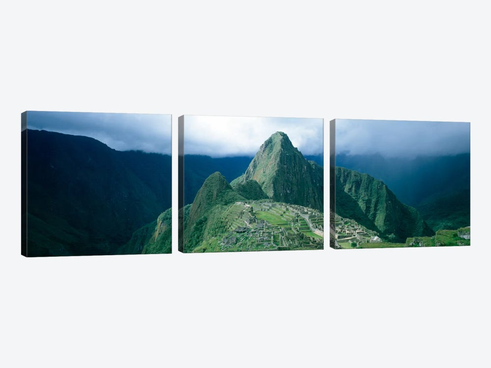Ruins, Machu Picchu, Peru by Panoramic Images 3-piece Art Print