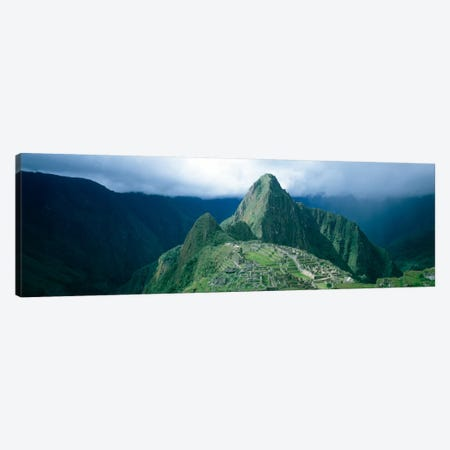 Ruins, Machu Picchu, Peru Canvas Print #PIM251} by Panoramic Images Art Print