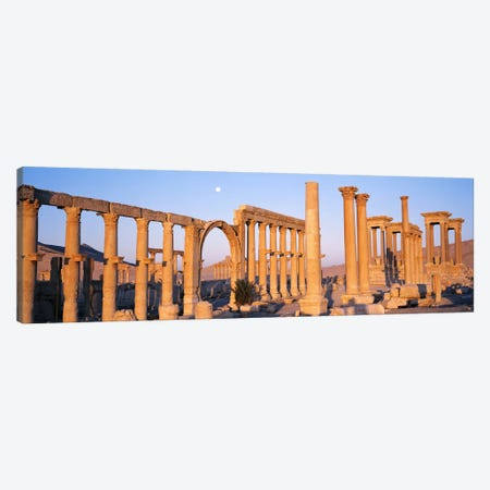 Ruins, Palmyra, Syria Canvas Print #PIM2531} by Panoramic Images Canvas Art Print