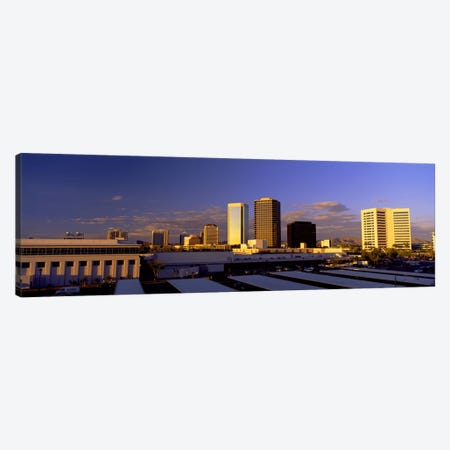 Cityscape Phoenix AZ Canvas Print #PIM2533} by Panoramic Images Art Print
