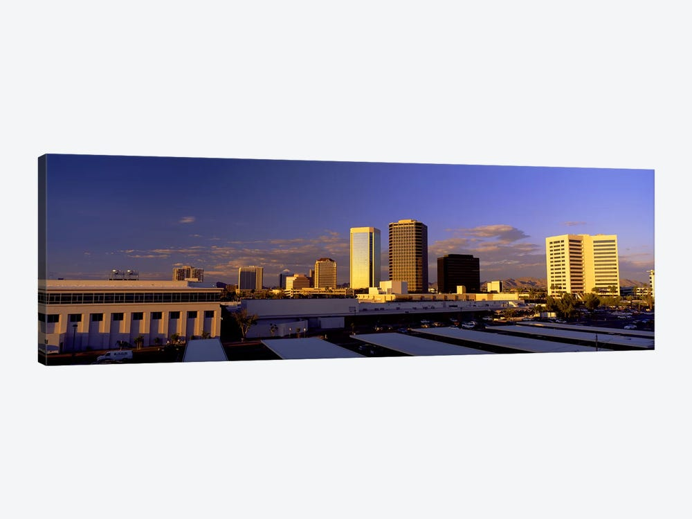 Cityscape Phoenix AZ by Panoramic Images 1-piece Canvas Artwork