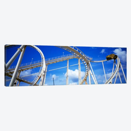 Batman The Escape Rollercoaster, Astroworld, Houston, Texas, USA Canvas Print #PIM253} by Panoramic Images Canvas Art Print