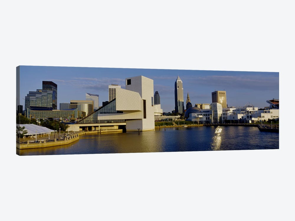 Buildings In A City, Cleveland, Ohio, USA by Panoramic Images 1-piece Art Print
