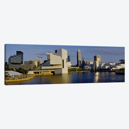 Buildings In A City, Cleveland, Ohio, USA Canvas Print #PIM2541} by Panoramic Images Canvas Artwork