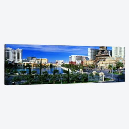 The Strip Las Vegas NV Canvas Print #PIM2543} by Panoramic Images Canvas Artwork