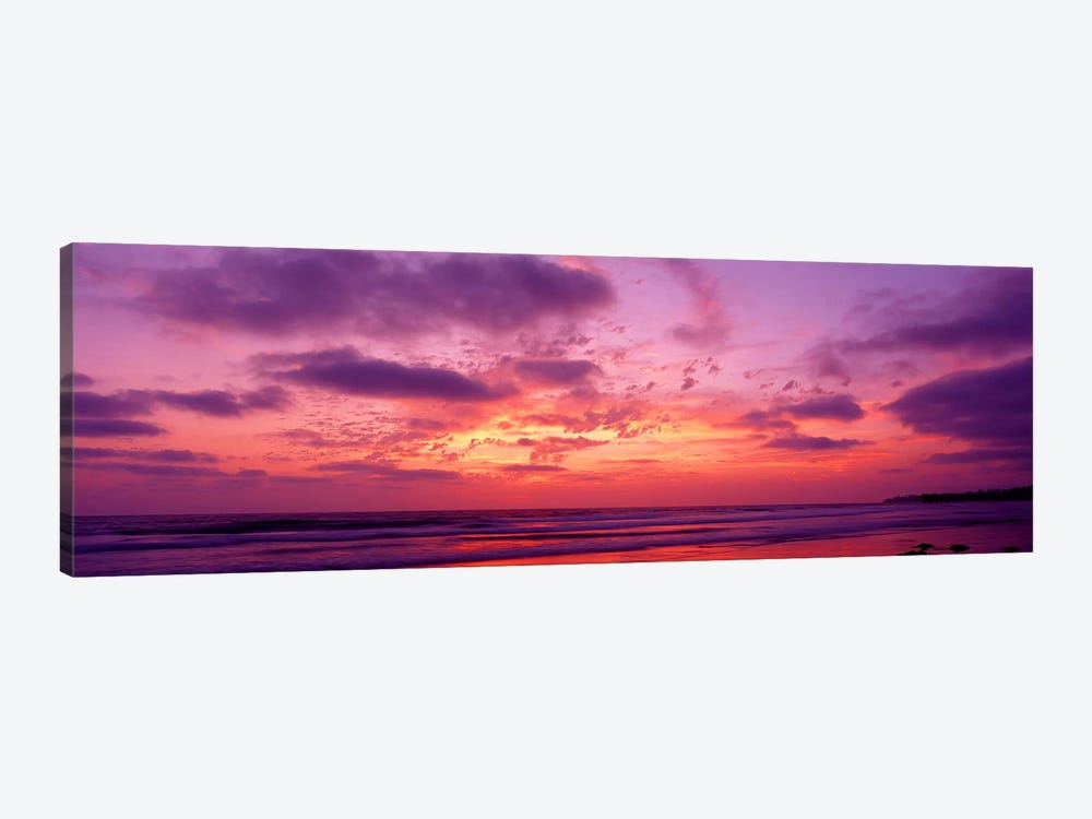 Clouds in the sky at sunset, Pacific Beach, San Diego, California, USA by Panoramic Images 1-piece Canvas Wall Art