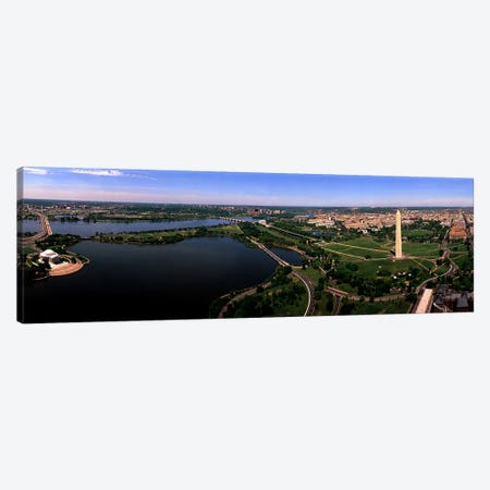 Aerial Washington DC USA Canvas Print #PIM2549} by Panoramic Images Canvas Artwork