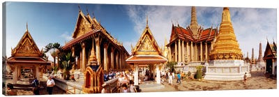 Phra Maha Prasat Group, Grand Palace, Bangkok, Thailand Canvas Art Print