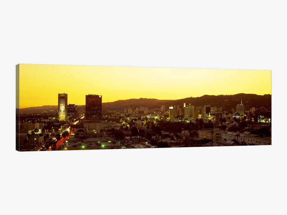 Hollywood Hills, Hollywood, California, USA by Panoramic Images 1-piece Canvas Art Print