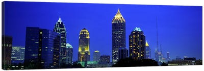 Evening, Atlanta, Georgia, USA Canvas Art Print