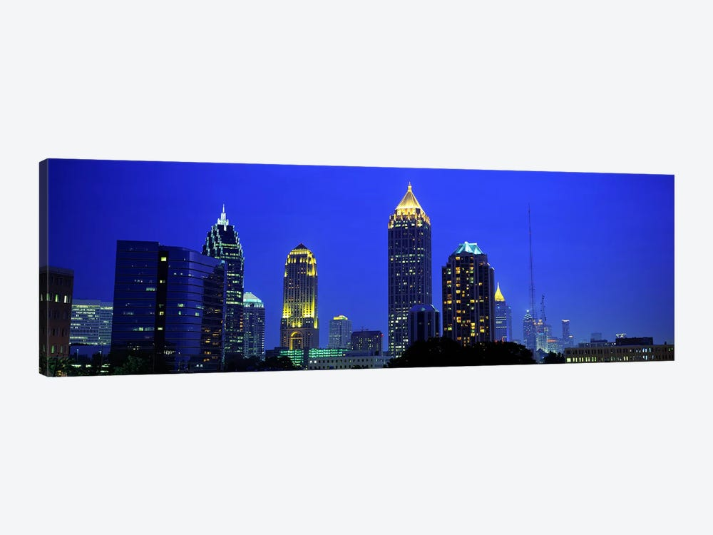 Evening, Atlanta, Georgia, USA by Panoramic Images 1-piece Canvas Art Print