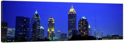 Evening, Atlanta, Georgia, USA Canvas Art Print