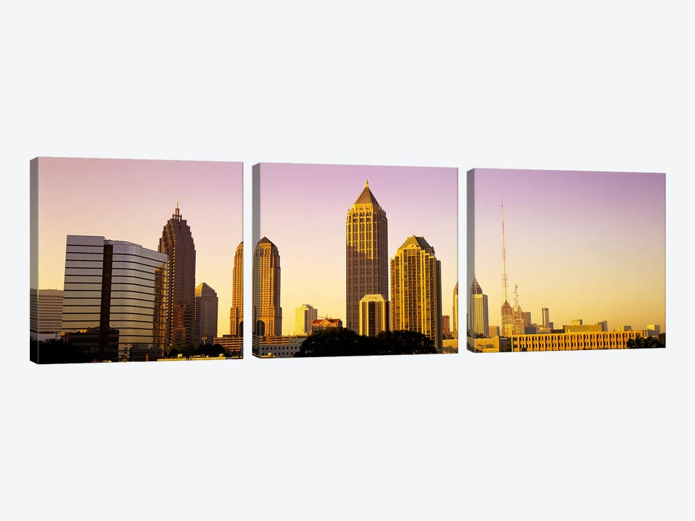 Sunrise, Atlanta, Georgia, USA by Panoramic Images 3-piece Canvas Art