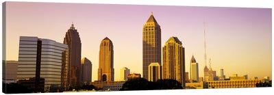 Sunrise, Atlanta, Georgia, USA Canvas Art Print