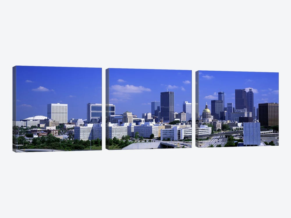 Atlanta, Georgia, USA by Panoramic Images 3-piece Art Print