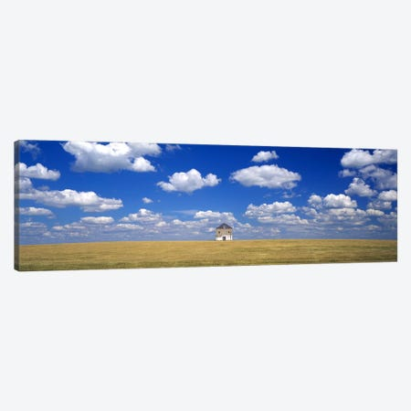 Cloudy Countryside Landscape, Grant County, Minnesota, USA Canvas Print #PIM2559} by Panoramic Images Art Print