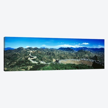 Great Wall Of China Canvas Print #PIM255} by Panoramic Images Canvas Wall Art