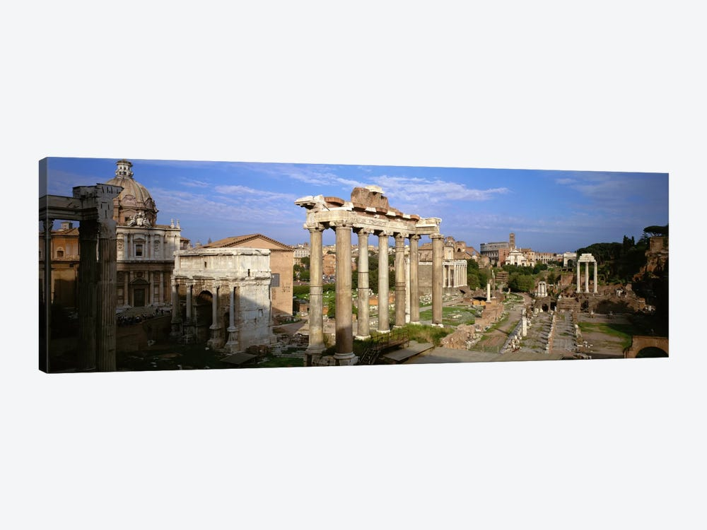 Forum Romanum, Rome, Lazio, Italy by Panoramic Images 1-piece Canvas Artwork