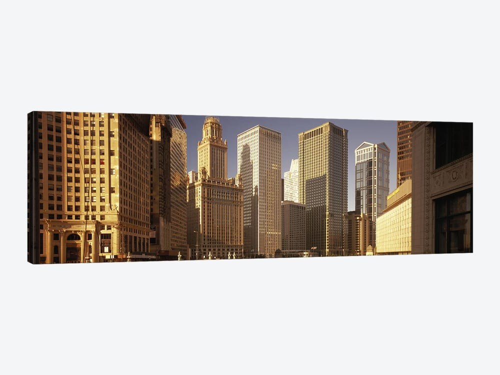 Cityscape Chicago IL USA by Panoramic Images 1-piece Canvas Wall Art