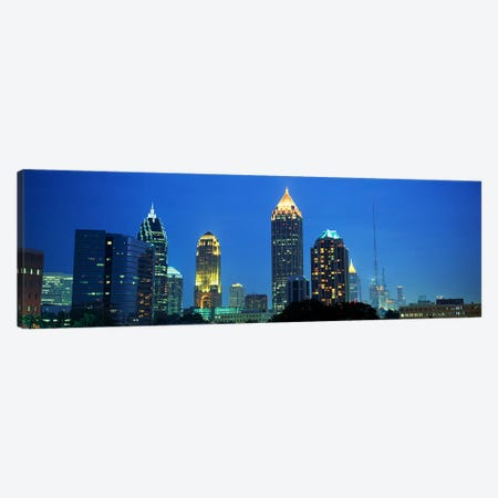 Skyline Atlanta GA USA Canvas Print #PIM2582} by Panoramic Images Canvas Artwork