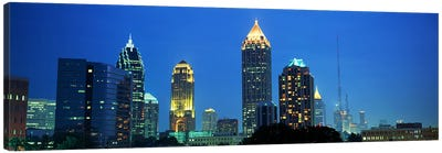 Skyline Atlanta GA USA Canvas Art Print