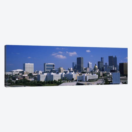 Skyscrapers in a city, Atlanta, Georgia, USA #3 Canvas Print #PIM2584} by Panoramic Images Canvas Print