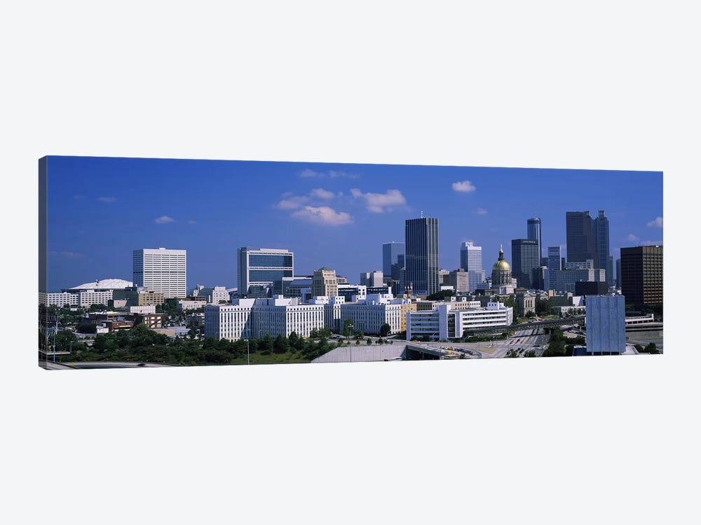 Skyscrapers in a city, Atlanta, Georgia, USA #3 by Panoramic Images 1-piece Canvas Wall Art