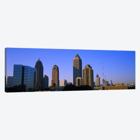 Buildings in a city, Atlanta, Georgia, USA Canvas Print #PIM2585} by Panoramic Images Canvas Art Print