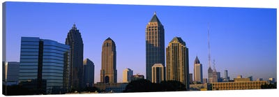 Buildings in a city, Atlanta, Georgia, USA Canvas Art Print