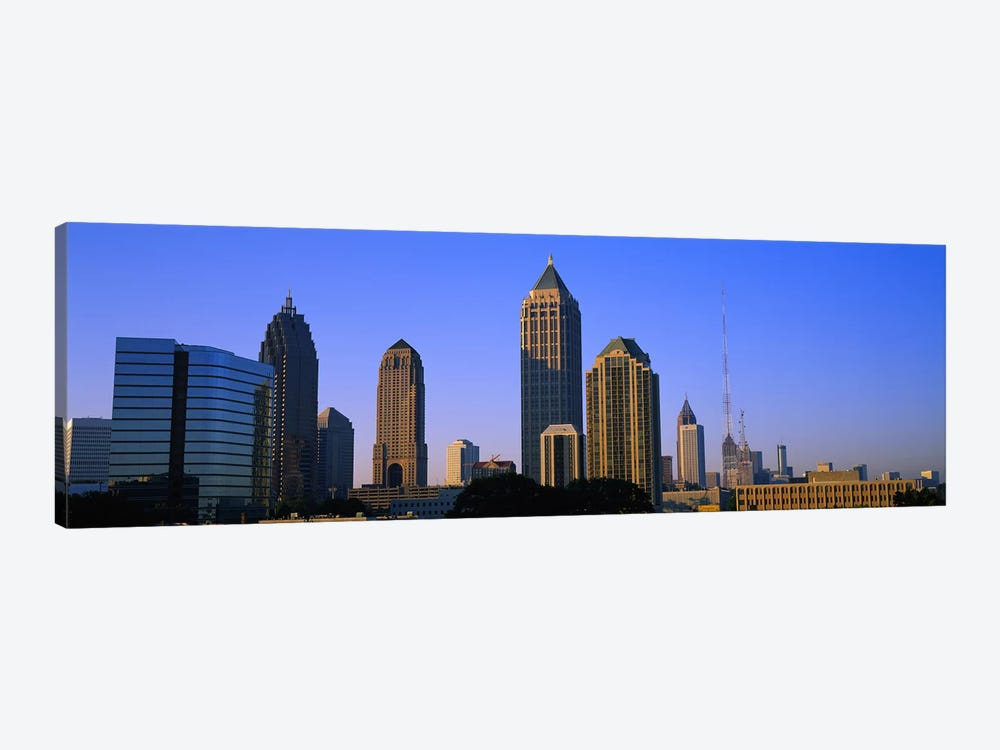 Buildings in a city, Atlanta, Georgia, USA by Panoramic Images 1-piece Art Print