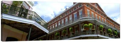 Wrought Iron Balcony New Orleans LA USA Canvas Art Print