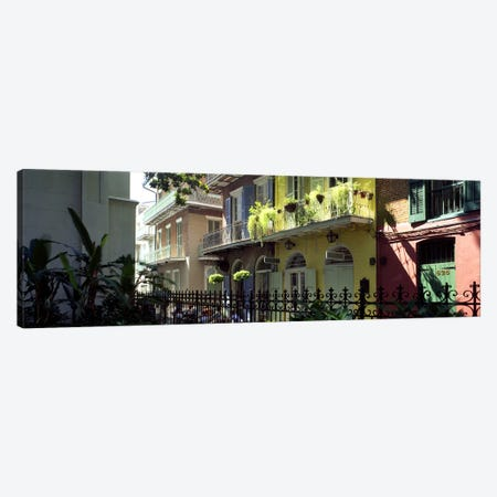 Buildings along the alleyPirates Alley, New Orleans, Louisiana, USA Canvas Print #PIM2587} by Panoramic Images Canvas Print