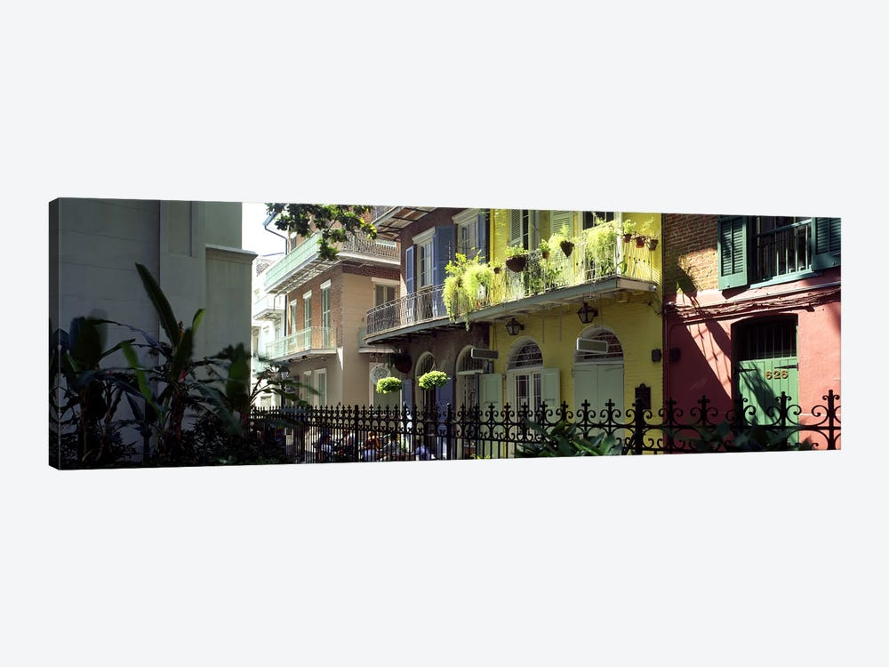 Buildings along the alleyPirates Alley, New Orleans, Louisiana, USA by Panoramic Images 1-piece Canvas Art Print