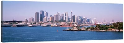 Skyline Sydney Australia Canvas Art Print