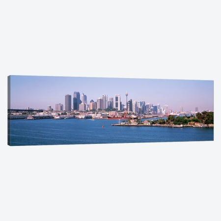 Skyline Sydney Australia Canvas Print #PIM2588} by Panoramic Images Canvas Artwork