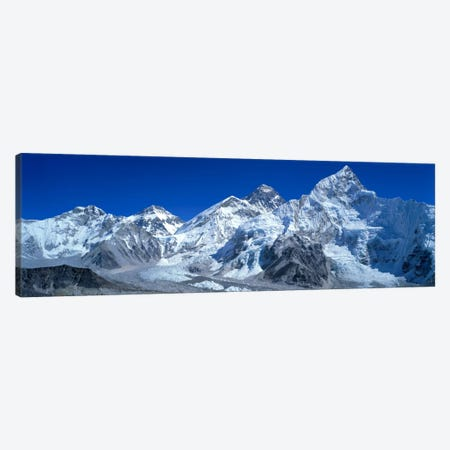 Himalayas, Khumbu Region, Nepal Canvas Print #PIM258} by Panoramic Images Art Print