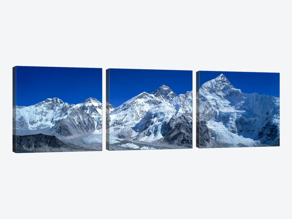 Himalayas, Khumbu Region, Nepal by Panoramic Images 3-piece Canvas Artwork