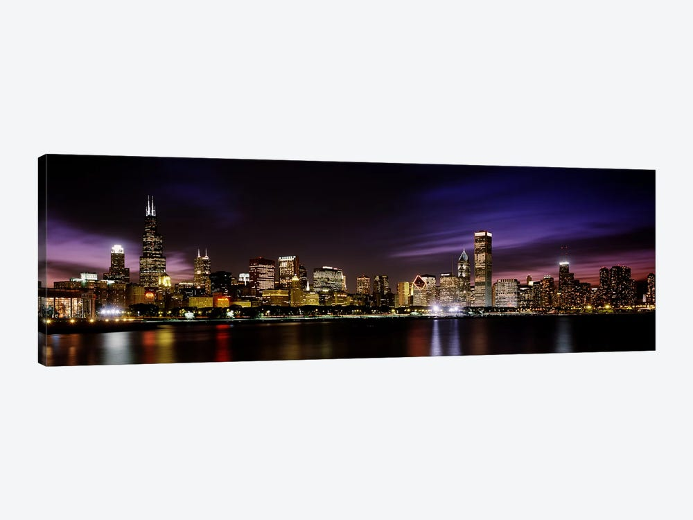 Downtown Skyline III, Chicago, Illinois, USA by Panoramic Images 1-piece Canvas Art
