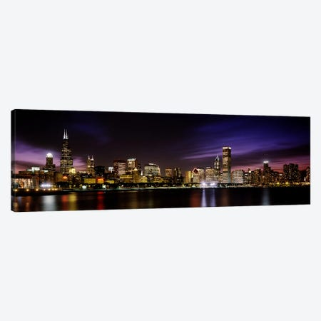 Downtown Skyline III, Chicago, Illinois, USA Canvas Print #PIM2599} by Panoramic Images Canvas Art Print
