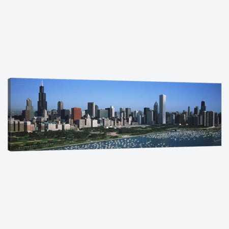 Downtown Skyline IV, Chicago, Illinois, USA Canvas Print #PIM2601} by Panoramic Images Canvas Print