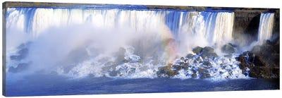 Fading Rainbow, American Falls & Bridal Veil Falls (Niagara Falls), New York, USA Canvas Print #PIM2606
